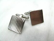 Unique RARE Vintage Classic DESTINO Sterling Silver CUFFLINKS Swivel Jointed