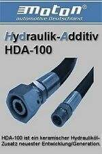 Hydrauliköl Additiv moton HDA-100 auch für Servoöle!