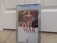 Civil War 1ST PRINT CGC 9.8 IRON SPIDEY MARVEL Captain America movie KEY ISSUE