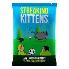 Exploding Kittens Streaking Kittens Expansion Card Game PREORDER Oct 2018