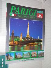 PARIGI Leconte 2000 238 fotografie viaggi libro guida manuale monumenti di