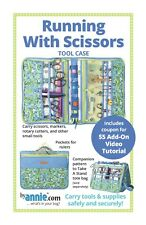 Running With Scissors - Sewing Craft PATTERN - Tool Case Bag Bags Tote Storage