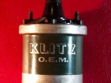 VINTAGE KLITZ 12 Volt Coil  TIPO G37 SU O.E.M. SUPER COOL NEW OLD STOCK DISPLAY