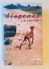 Disgrace by J.M. Coetzee, Secker, 1999, 1st Printing, 1st State Dust Jacket