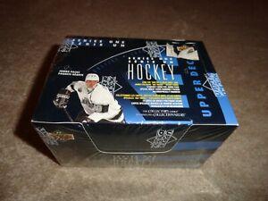 1993-94 Upper Deck Series 1 Hockey Jumbo Pack Box Factory Sealed French/English