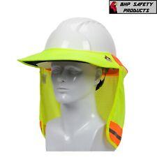 Fr Fire Retardent Treated Hi Vis Hard Hat Visor And Neck Shade 396 801fr