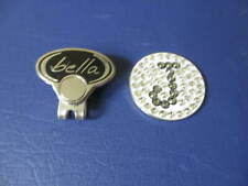 Ladies Bedazzled Bella Letter J Hat Clip/Ball Marker  *