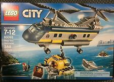 LEGO City Deep Sea Helicopter 60093 Ages 7-12 Pieces 388 NIB