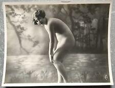 Photo érotique NU FEMININ Erotica NUDE Erotisme ORIGINAL 1920 b *