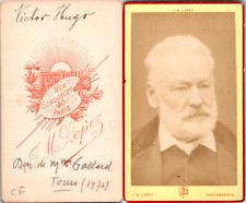 Lopez, Paris, Victor Hugo Vintage CDV albumen carte de visite - Victor Hugo est