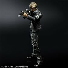 Square Enix - PLAY ARTS KAI - Résident Evil 6 - Leon S. Kennedy - Officiel