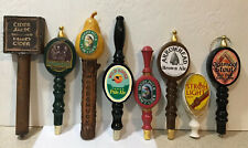 Brewing Beer Tap Handle Lot of 8 - Woodchuck, Wild Goose, Arrowhead, and More!