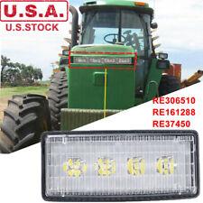 Re306510 30w Led Headlights For John Deere 4040 4050 4055 4450 4560 6500k White