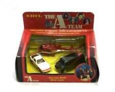 RARE 1983 Vintage Ertl Diecast A-Team 3 Pack Van Car Helicopter Boxed Sealed
