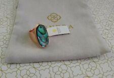 Kendra Scott Kit Abalone Ring Sz 6