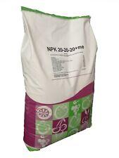 Concime in polvere idrosolubile radicale fertilizzante NPK 20 20 20 sacco 25 kg