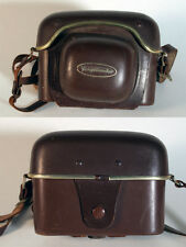 VOIGTLANDER CASE BROWN LEATHER VINTAGE W/ STRAP