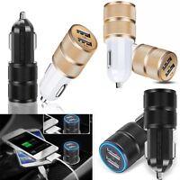 2.1A Dual Port USB KFZ Ladegerät / Netzteil / Adapter 12-24 Volt HIGH-SPEED