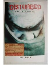 Disturbed Promo Poster and poster flat and sticker