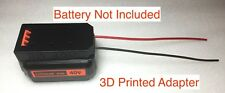 1x battery adapter for Black and decker 40V dock power connector robotics