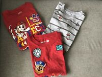Paw Patrol T-shirt Bundle 3 Years Excellent Condition