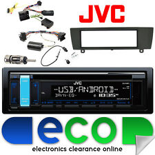 BMW 3 Series E91 06-15 JVC CD MP3 USB AUX iPod Radio Auto Sterzo interfaccia KIT
