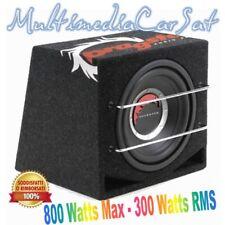 Dragster DER 210.1 Subwoofer Reflex 800 Watts 300 RMS Cassa Box Passivo 25cm