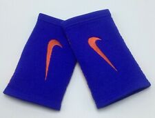 Nike Dri-Fit Stealth DoubleWide Wristbands Paramount Blue/Orange Men's Women's
