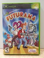 Futurama (Microsoft Xbox, 2003) Disc & Case - No Manual CLEAN FREE SHIPP
