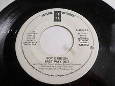 Roy Orbison Easy Way Out 45 1979 Asylum Promo Vinyl Record