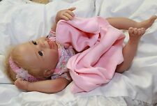 IT'S BATH TIME! 17 Inch Collectors Life Like Newborn Bathable Baby Doll + Extras
