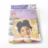 Child's Size Wig Hua Mulan China's Sweetest Magnolia Halloween Costume