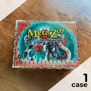 MetaZoo First Edition Booster Box Display Case | Framing-Grade Acrylic, laser-cu