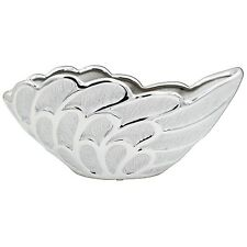 Silver Art 14cm Angel Design Decorative Kitchen Ornament Fruits Bowl Decoration