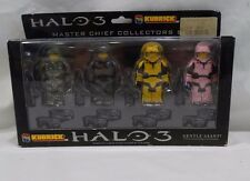 New  2007  Halo 3  Kubrick   Master Chief Collectors  4 figure set  Gentle Giant