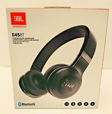 JBL E45BT by Harman Wireless On-Ear Headphones with One-Button Remote & Mic