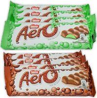 Nestle Aero Milk Chocolate and Peppermint Bars, 1.4 oz Bars, Pack of 8