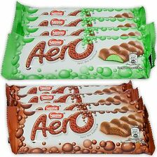 Nestle Aero Milk Chocolate and Peppermint Bars, 1.4 oz Bars, Pack of 8