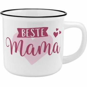 Sheepworld Becher Beste Mama Porzellan Kaffeetasse Henkelbecher Henkeltasse Tass