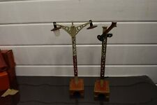 More details for fits bing bowman gauge 1 single arm signal platform lamp battery operated