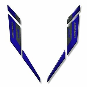 Sticker 3D For Faceplate Compatible With YAMAHA Tracer 900GT 2019 Blue