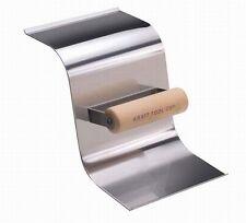 "Kraft Tool Concrete Curb & Gutter Trowel Stainless Steel 1.5"" Radius Curb 21456"