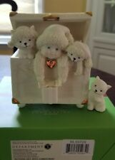 "2006 Dpt56 Snowbabies #56.69729 """"Kittens Get Into Christmas"" Music Box"
