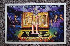Evil Dead 2 Lobby Card Movie Poster #2