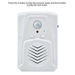 USB MP3 Türklingel Musik Tür Klingel IR Sensor Bewegungsmelder Audio Türglocke❉