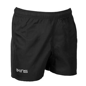 Skins Rugby Shorts - Mens - Black - New - Sportswear - Rugby - Training