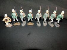 Elastolin Lineol Soldaten Konvolut 8 Stück Soldaten !