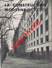 La construction moderne 17 1937 Hôtel-Ministère PTT Pompes Guinard Saint-Cloud