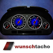 """Tachoscheibe für BMW E38-E39/E53/X5  """"Blaue Nova""""   Diesel"""