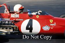Clay Regazzoni Ferrari 312 B USA Grand Prix 1970 Photograph